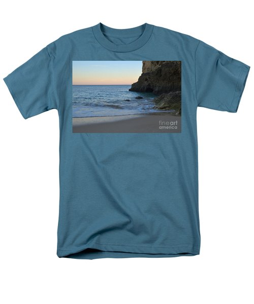 Albandeira Beach Welcoming Twilight 2 Men's T-Shirt  (Regular Fit) by Angelo DeVal