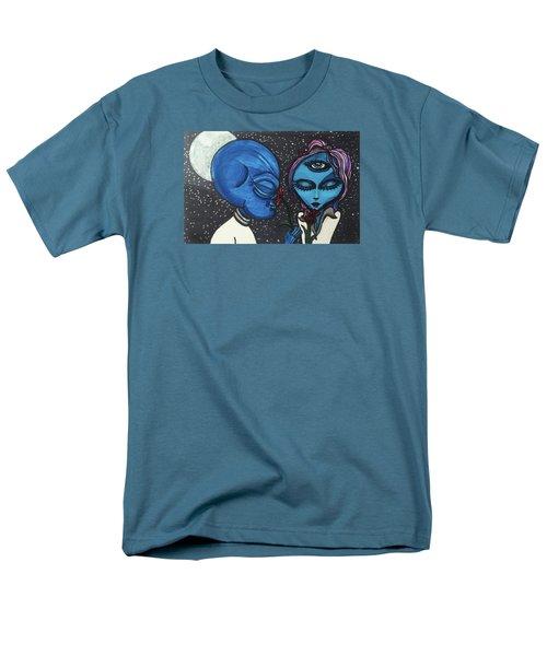 Aliens Love Flowers Men's T-Shirt  (Regular Fit)
