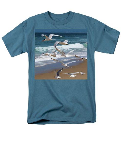 Aloft Again Men's T-Shirt  (Regular Fit) by Joe Schofield
