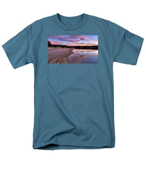 Along The Shoreline Men's T-Shirt  (Regular Fit) by John Loreaux