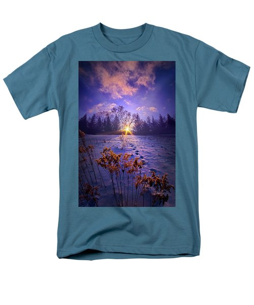 Men's T-Shirt  (Regular Fit) featuring the photograph And Back Again by Phil Koch