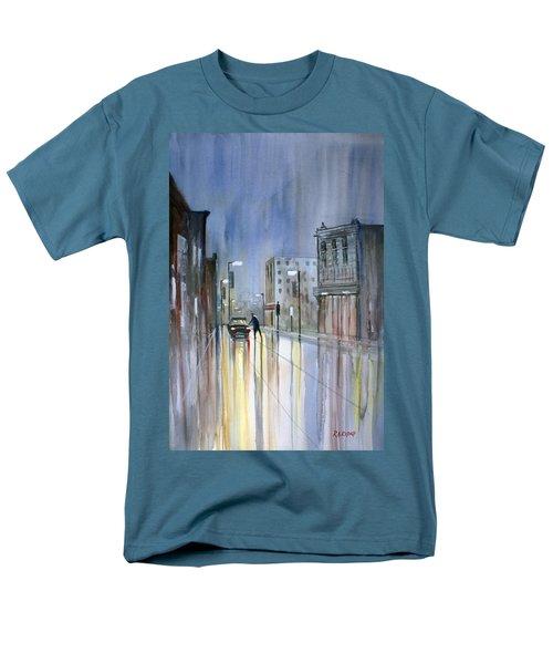 Another Rainy Night Men's T-Shirt  (Regular Fit) by Ryan Radke