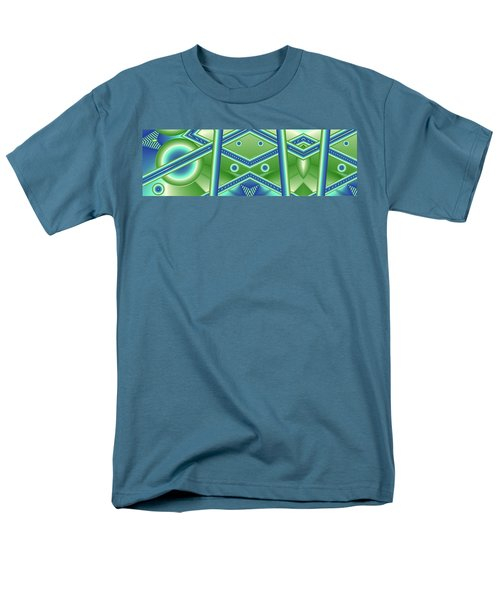 Aquamarine Men's T-Shirt  (Regular Fit) by Ron Bissett