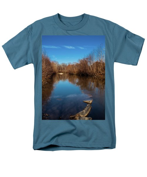Men's T-Shirt  (Regular Fit) featuring the photograph Ararat River by Randy Sylvia