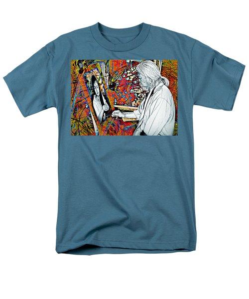Artist In Abstract Men's T-Shirt  (Regular Fit) by Ian Gledhill