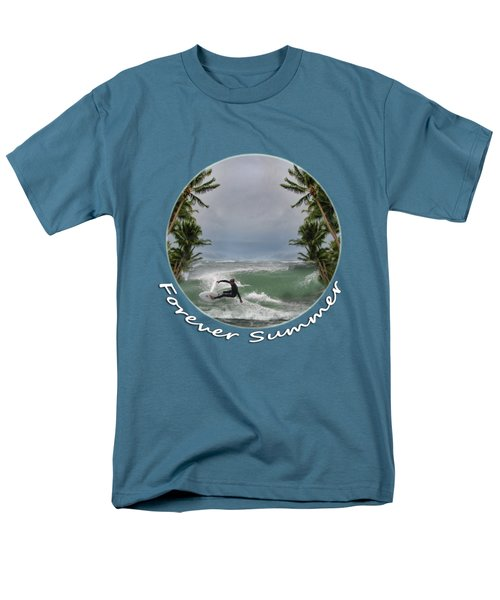 Men's T-Shirt  (Regular Fit) featuring the photograph Forever Summer 2 by Linda Lees