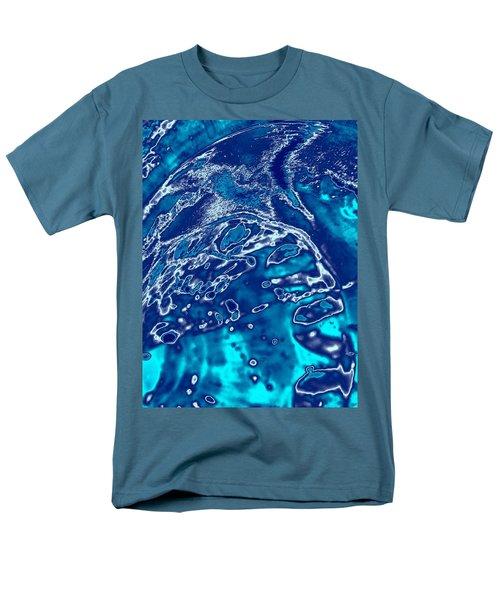 Molten Metal Splash Men's T-Shirt  (Regular Fit) by Samantha Thome