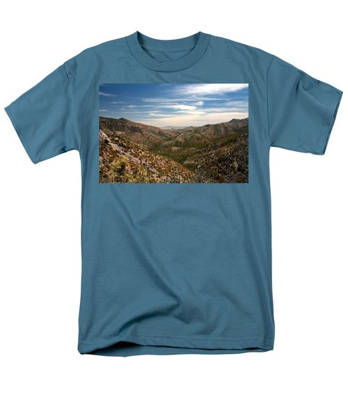 Men's T-Shirt  (Regular Fit) featuring the photograph As Far As The Eye Can See by Joe Kozlowski