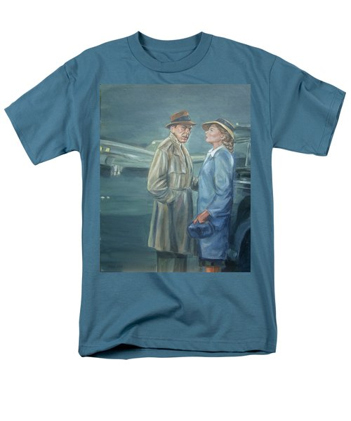 Men's T-Shirt  (Regular Fit) featuring the painting As Time Goes By by Bryan Bustard