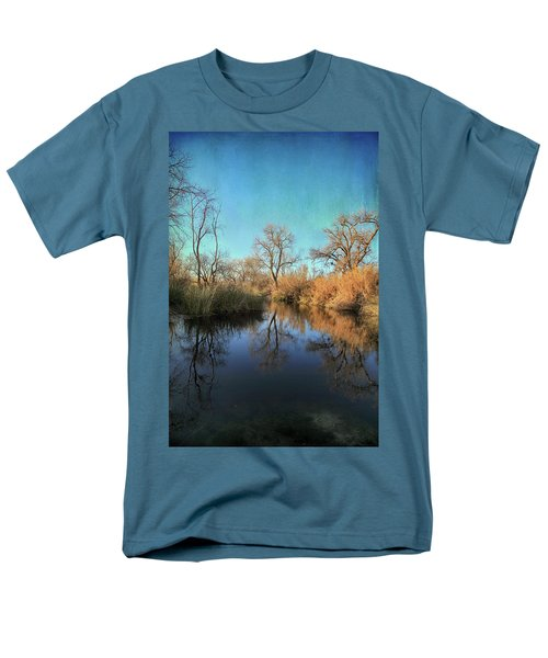 Men's T-Shirt  (Regular Fit) featuring the photograph As We Taked About The Year by Laurie Search
