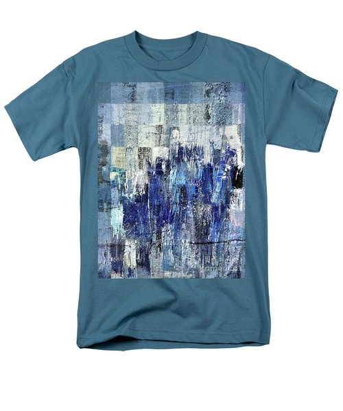 Men's T-Shirt  (Regular Fit) featuring the digital art Ascension - C03xt-160at2c by Variance Collections