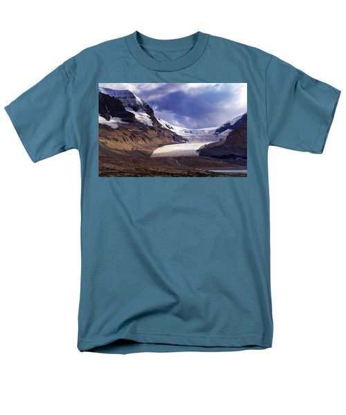 Athabasca Glacier Men's T-Shirt  (Regular Fit) by Heather Vopni