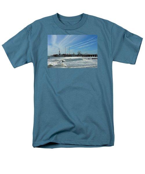 Men's T-Shirt  (Regular Fit) featuring the photograph Atlantic City, New Jersey by Allen Beilschmidt