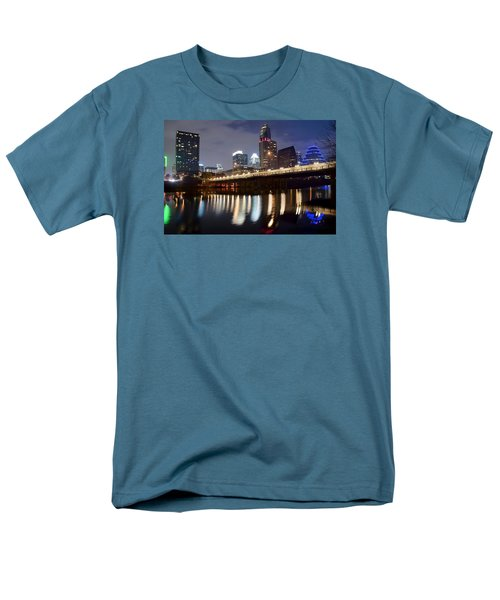 Austin From Below Men's T-Shirt  (Regular Fit) by Frozen in Time Fine Art Photography