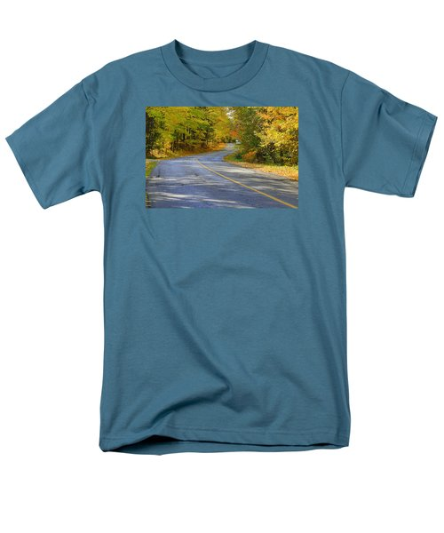 Men's T-Shirt  (Regular Fit) featuring the photograph Autumn In The Caledon Hills 2 by Gary Hall
