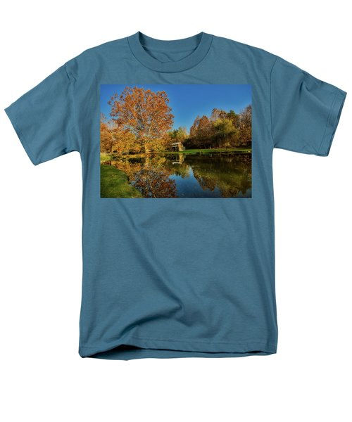 Autumn In West Virginia Men's T-Shirt  (Regular Fit) by L O C