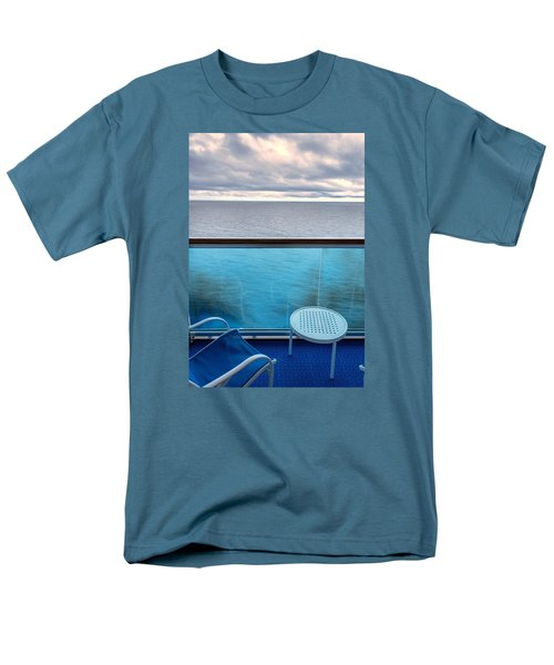 Balcony View Men's T-Shirt  (Regular Fit) by Lewis Mann