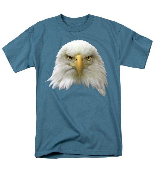 Bald Eagle Men's T-Shirt  (Regular Fit) by Shane Bechler