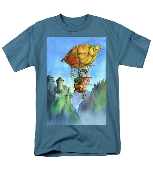 Balloon Ogre Men's T-Shirt  (Regular Fit) by Andy Catling