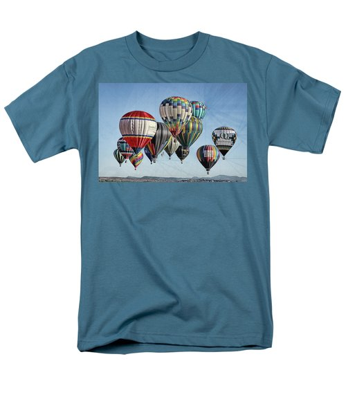 Men's T-Shirt  (Regular Fit) featuring the photograph Ballooning by Marie Leslie