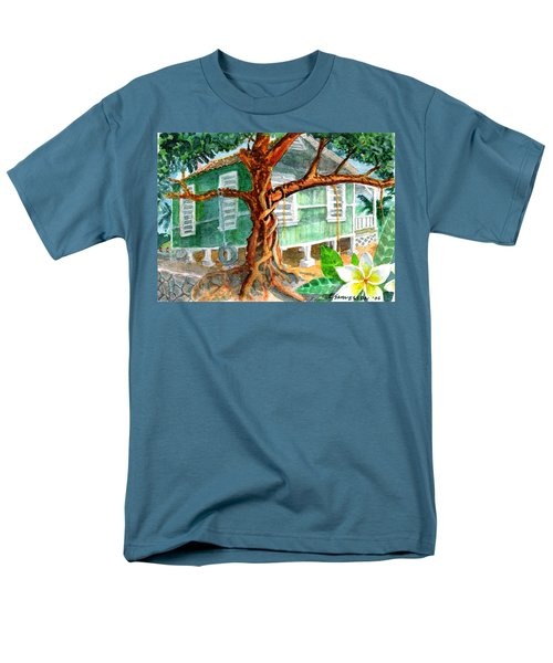 Banyan In The Backyard Men's T-Shirt  (Regular Fit) by Eric Samuelson