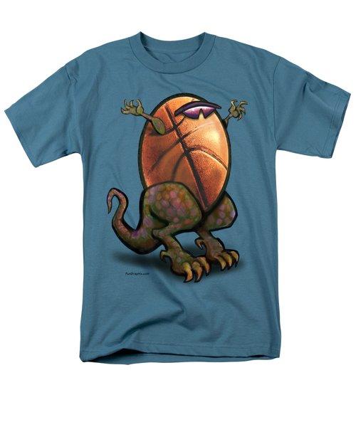 Basketball Saurus Rex Men's T-Shirt  (Regular Fit) by Kevin Middleton