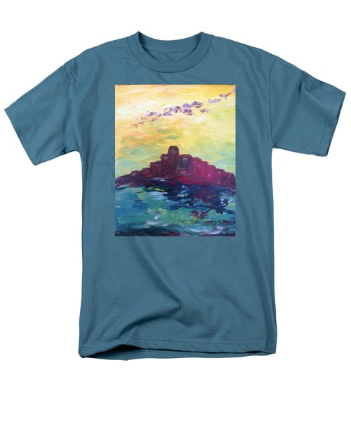 Bay City Skyscape Men's T-Shirt  (Regular Fit) by Roxy Rich