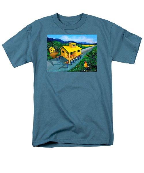 Bayanihan Men's T-Shirt  (Regular Fit) by Cyril Maza