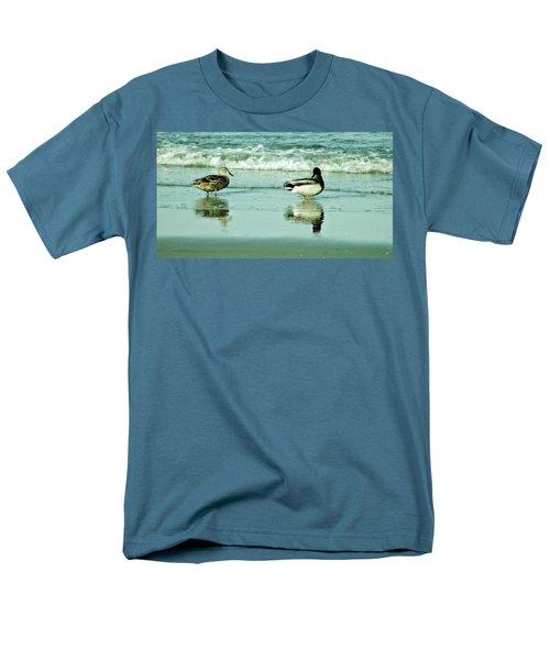 Beach Ducks Men's T-Shirt  (Regular Fit) by John Wartman