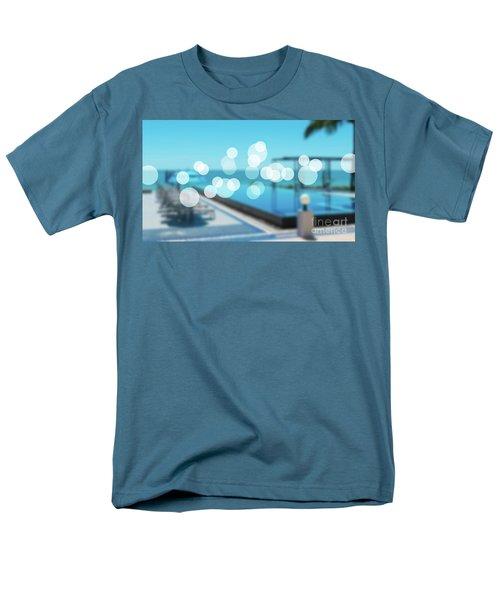 Men's T-Shirt  (Regular Fit) featuring the photograph Beach Resort Concept by Atiketta Sangasaeng