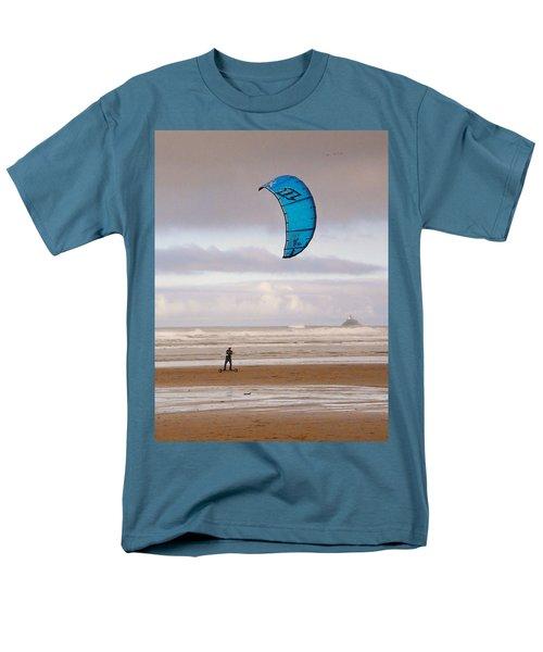 Beach Surfer Men's T-Shirt  (Regular Fit) by Wendy McKennon