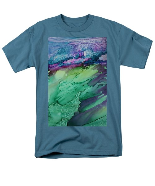 Beachfroth Men's T-Shirt  (Regular Fit) by Ruth Kamenev