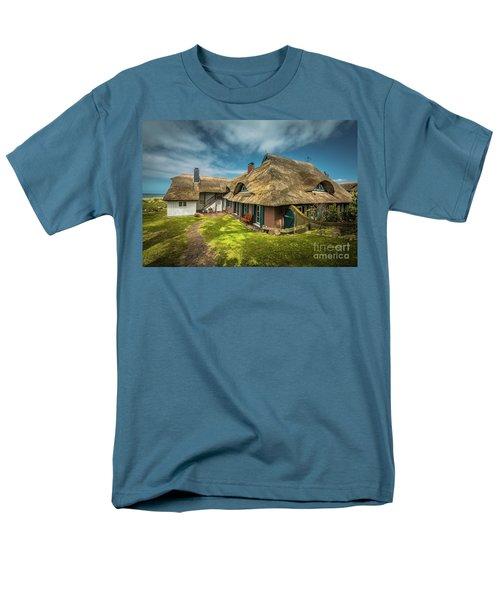 Beautiful Cottage Men's T-Shirt  (Regular Fit) by Eva Lechner
