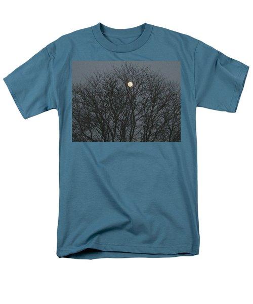 Beautiful Moon Men's T-Shirt  (Regular Fit) by Sonali Gangane