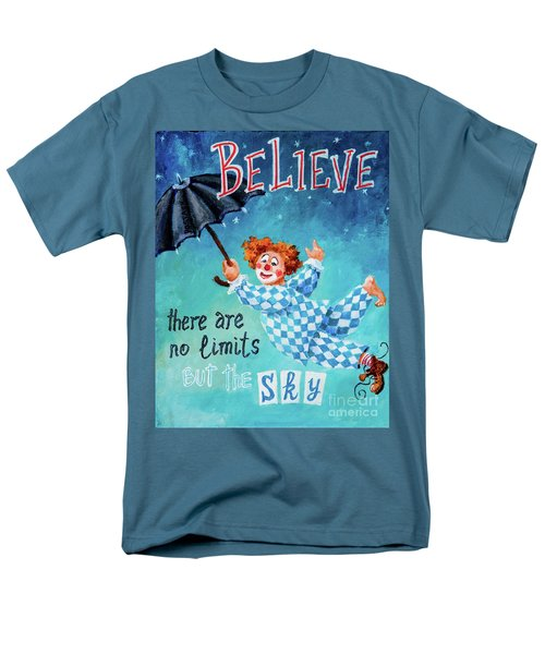 Men's T-Shirt  (Regular Fit) featuring the painting Believe by Igor Postash