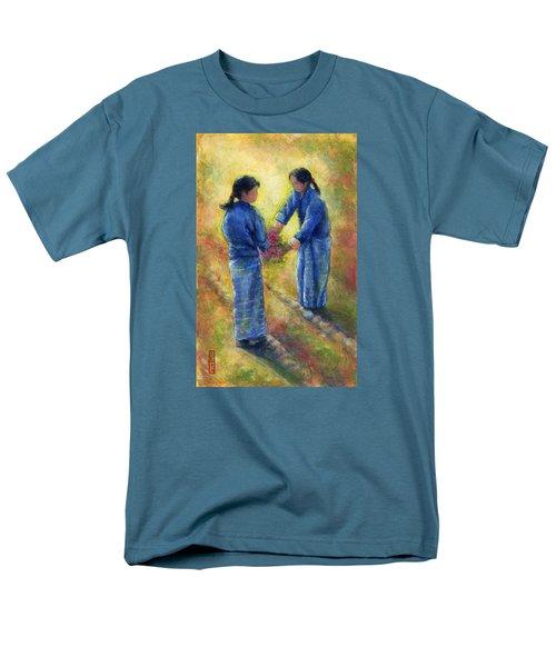 Best Friends Men's T-Shirt  (Regular Fit) by Retta Stephenson