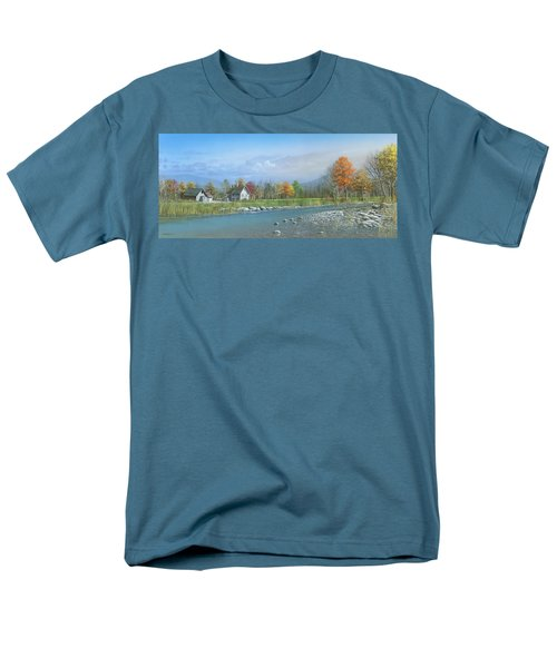 Men's T-Shirt  (Regular Fit) featuring the painting Better Days by Mike Brown