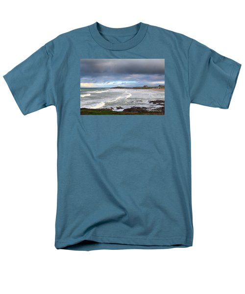 Men's T-Shirt  (Regular Fit) featuring the photograph Between Cornish Storms 1 by Nicholas Burningham