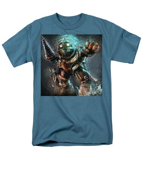 Men's T-Shirt  (Regular Fit) featuring the digital art Bioshock by Taylan Apukovska