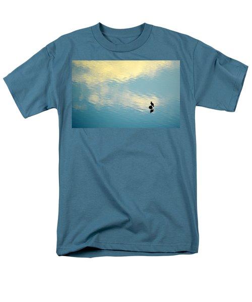 Bird Reflection Men's T-Shirt  (Regular Fit) by AJ Schibig