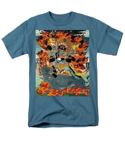 Black Hayagriva Men's T-Shirt  (Regular Fit) by Sergey Noskov