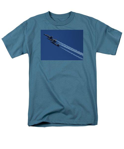 Blue Angels Over San Francisco Bay Men's T-Shirt  (Regular Fit)