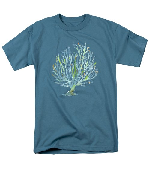 Blue Coral Men's T-Shirt  (Regular Fit)