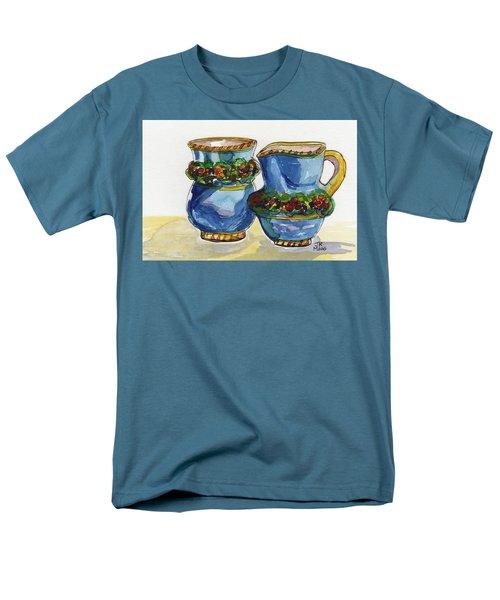 Blue Cream And Sugar Men's T-Shirt  (Regular Fit)