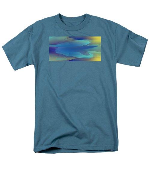 Blue Fog I Men's T-Shirt  (Regular Fit) by David Klaboe