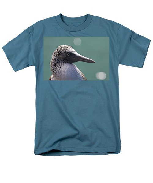 Blue Footed Booby II Men's T-Shirt  (Regular Fit) by Dave Fleetham