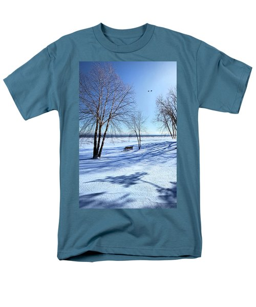 Men's T-Shirt  (Regular Fit) featuring the photograph Blue On Blue by Phil Koch