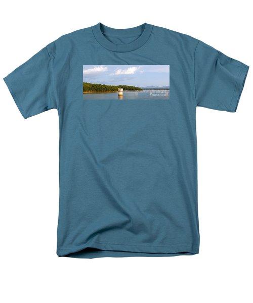 Blue Ridge Dam Men's T-Shirt  (Regular Fit)