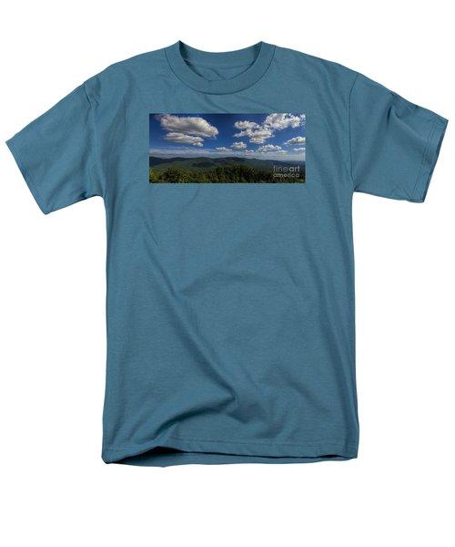 Men's T-Shirt  (Regular Fit) featuring the photograph Blue Ridge Mountains by Barbara Bowen