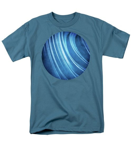 Blue Ridges Fractal Men's T-Shirt  (Regular Fit) by Phil Perkins